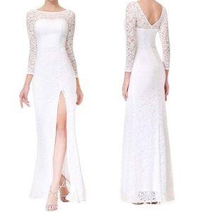 Dresses & Skirts - Lace wedding dress summer